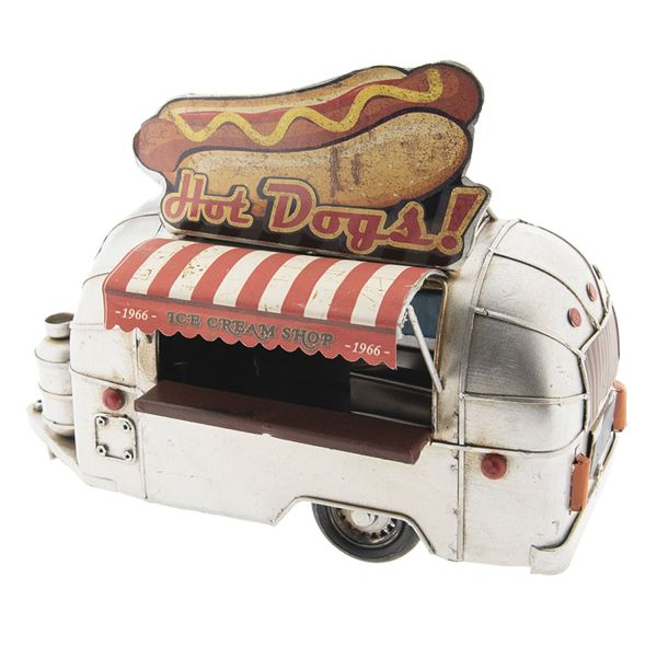 Clayre & Eef Modell Wohnwagen Hot Dogs