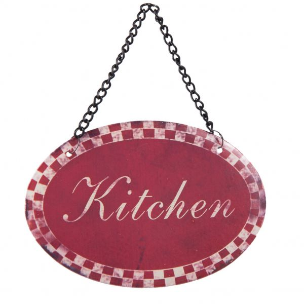 Clayre & Eef Textschild Kitchen