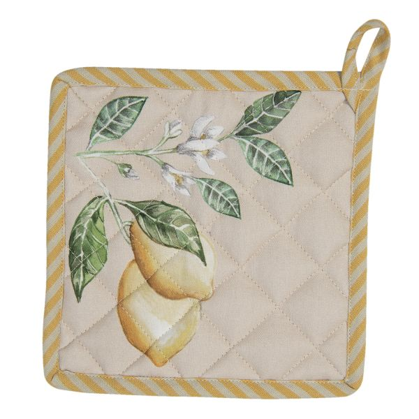 Clayre & Eef Topflappen Lemon and Leafs