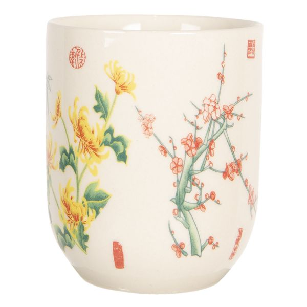 Clayre & Eef Teebecher China Flowers