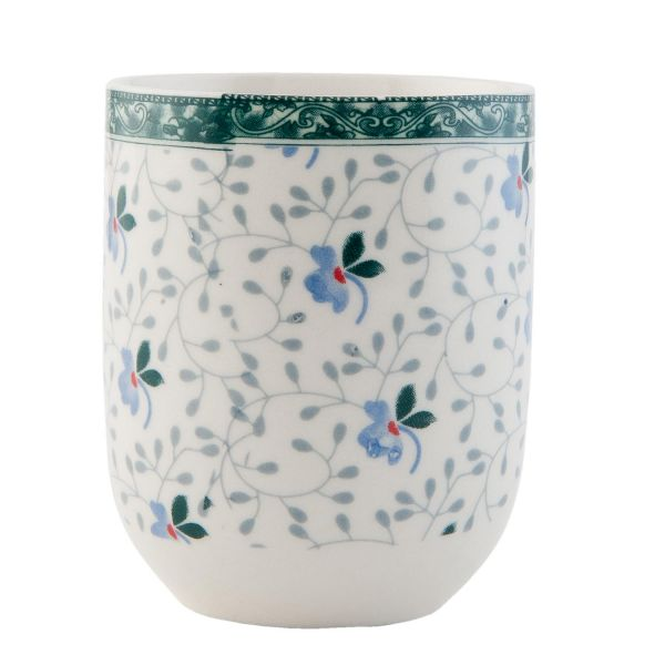 Clayre & Eef Teebecher Blue Flower